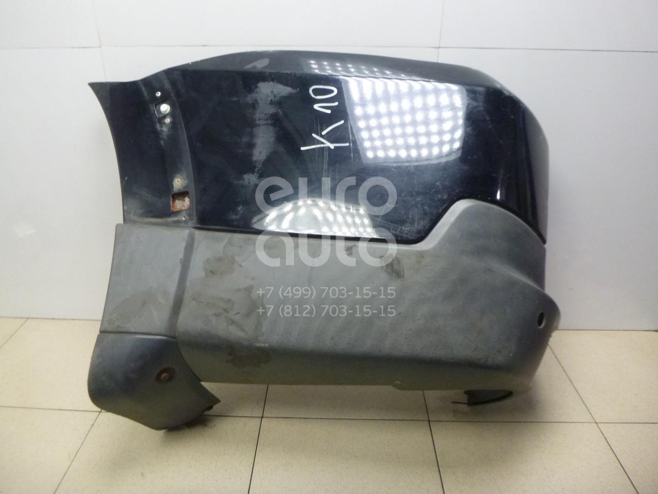 Купить Накладка заднего бампера левая Mitsubishi Pajero/Montero IV (V8, V9) 2007-; (6410B017XA)