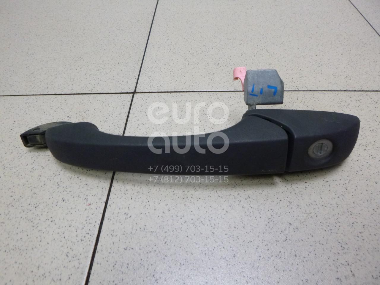 Купить Ручка двери передней наружная левая Jeep Compass (MK49) 2006-2016; (5074189AD)