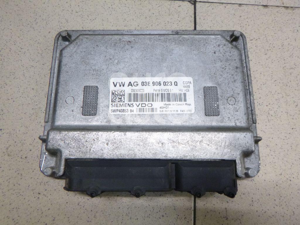 Купить Блок управления двигателем Skoda Fabia 2007-2015; (03E906023Q)