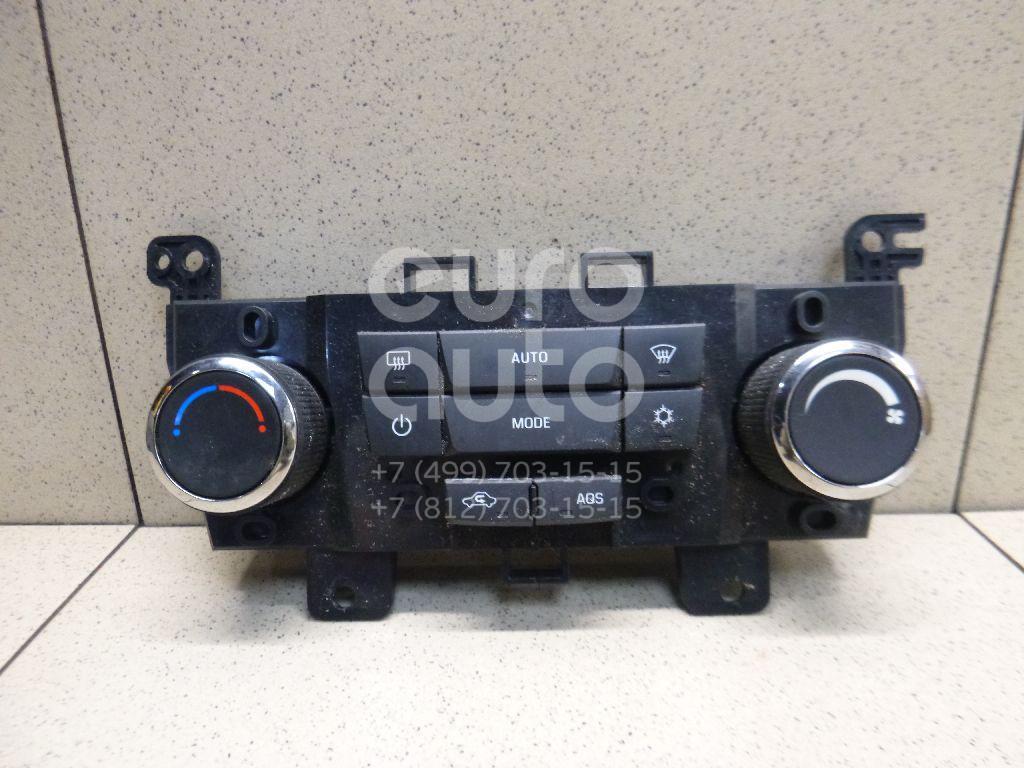 Купить Блок управления климатической установкой Chevrolet Orlando 2011-2015; (95017057)