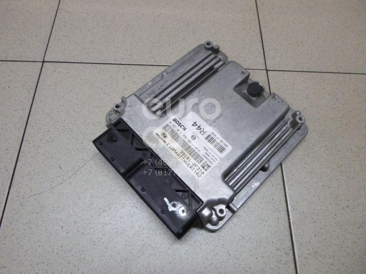 Купить Блок управления двигателем Hyundai Santa Fe (DM) 2012-; (391012F310)