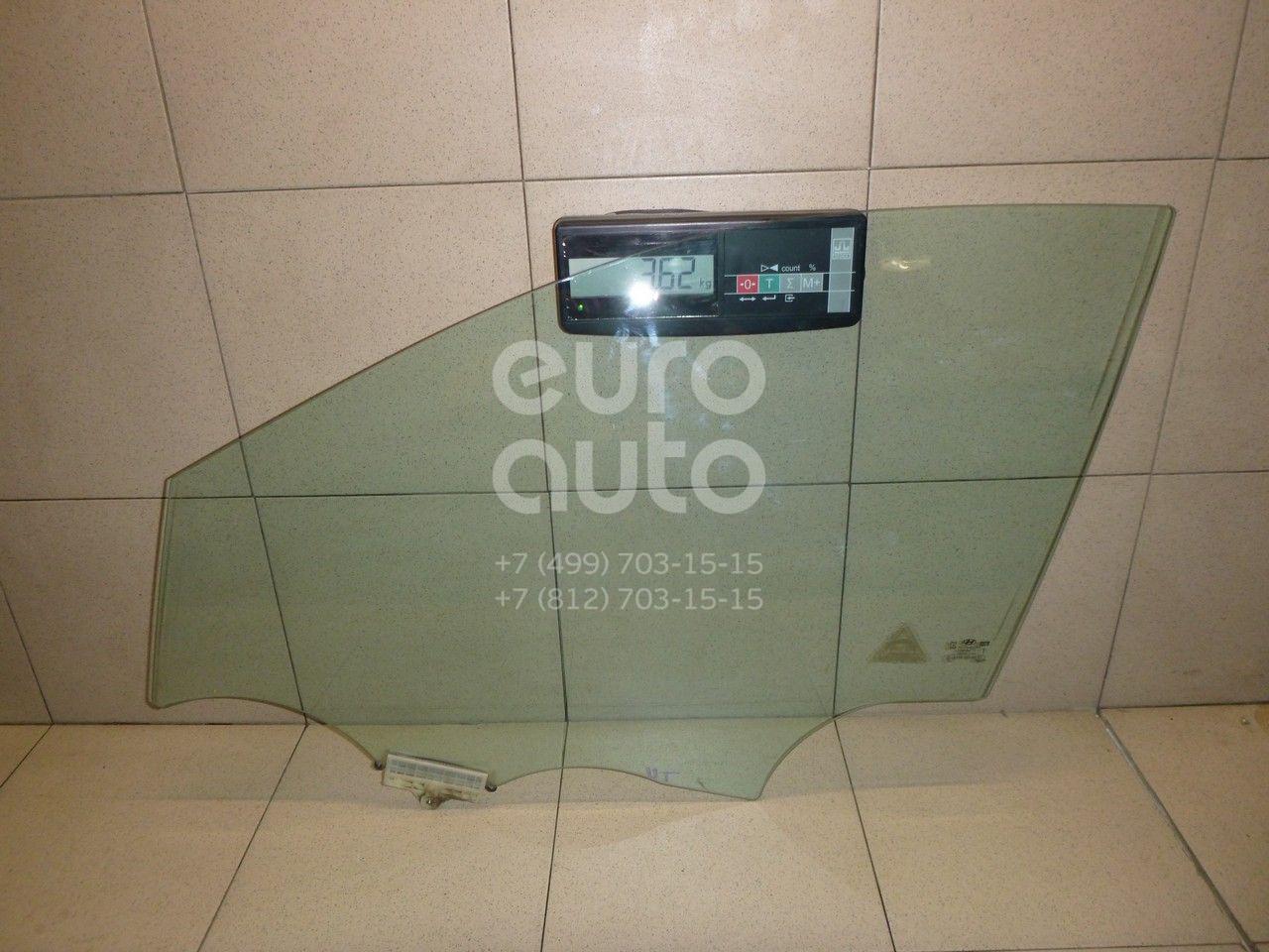 Купить Стекло двери передней левой Hyundai Santa Fe (DM) 2012-; (824102W010)