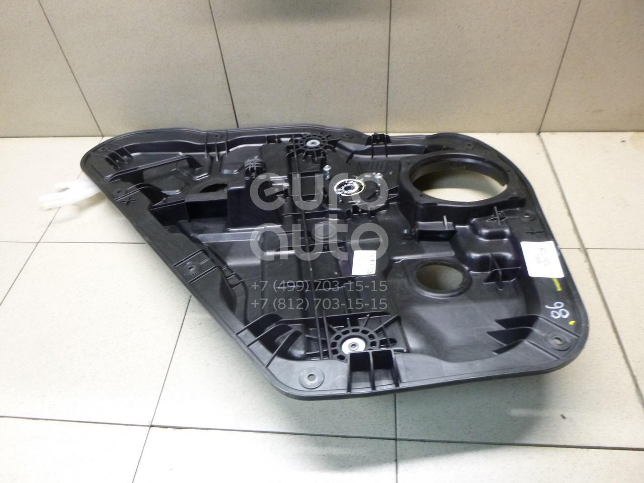 Купить Стеклоподъемник электр. задний левый Hyundai Santa Fe (DM) 2012-; (834712W000)