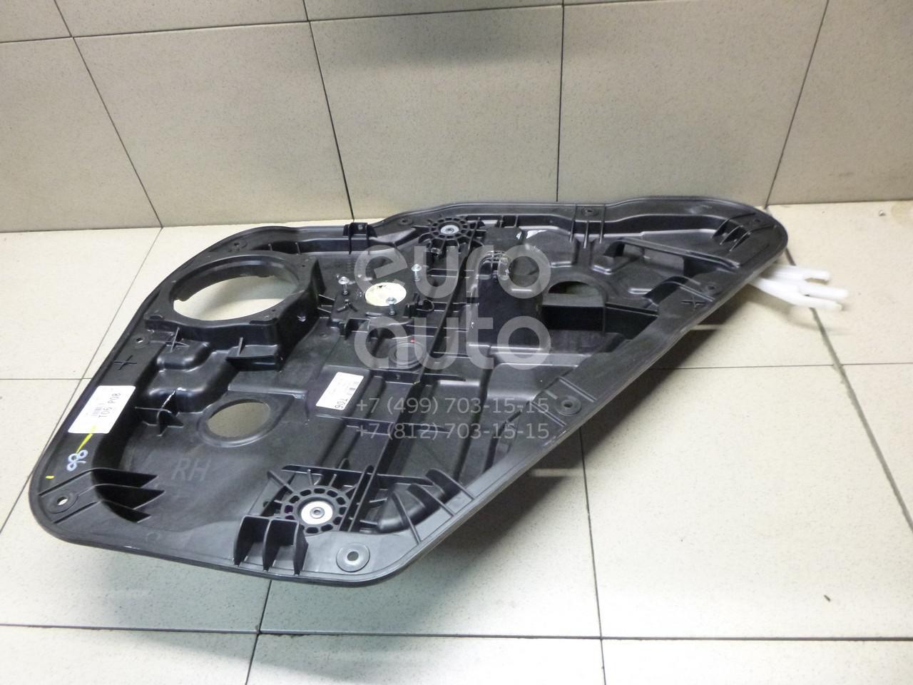 Купить Стеклоподъемник электр. задний правый Hyundai Santa Fe (DM) 2012-; (834812W000)