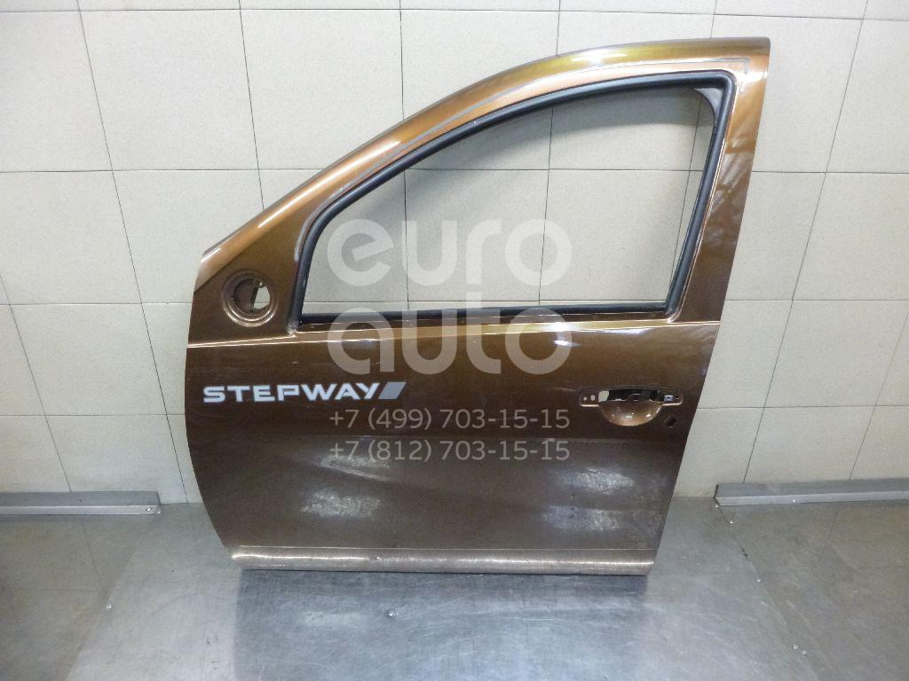 Купить Дверь передняя левая Renault Sandero 2009-2014; (801015127R)