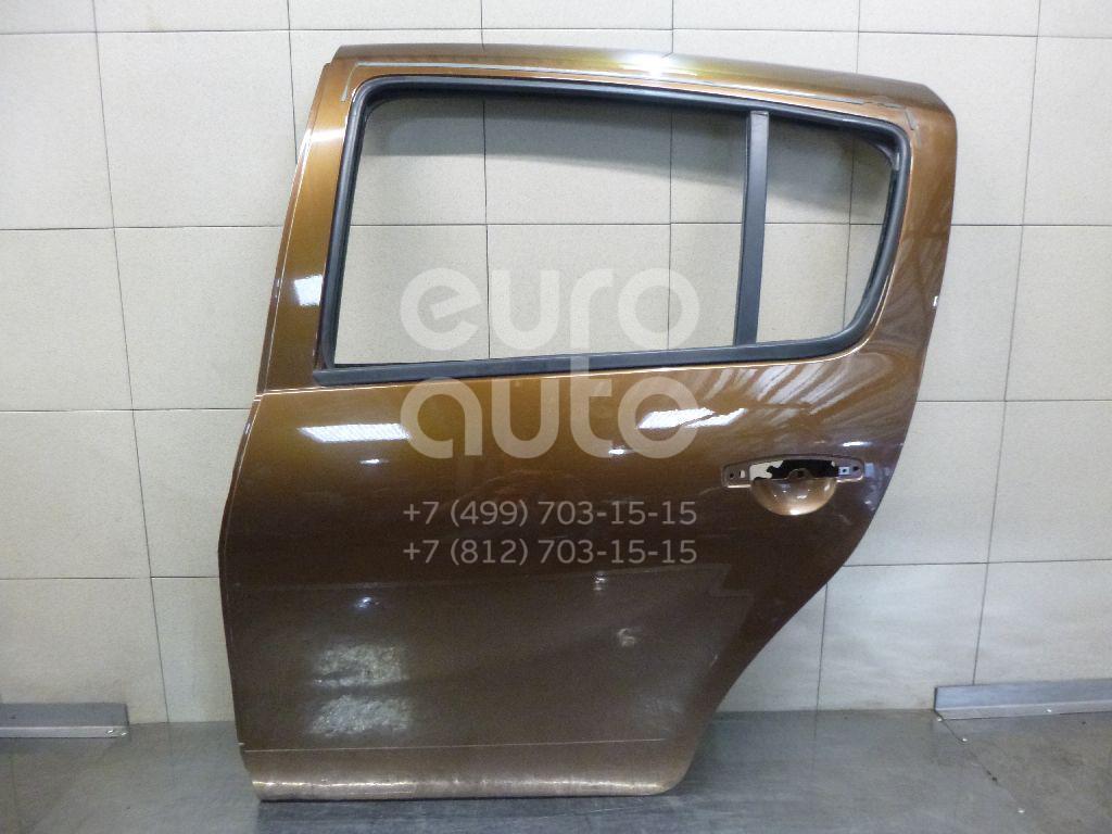 Купить Дверь задняя левая Renault Sandero 2009-2014; (821012255R)