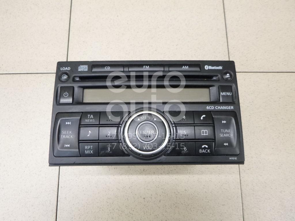 Купить Магнитола Nissan Qashqai (J10) 2006-2014; (28185JD40A)