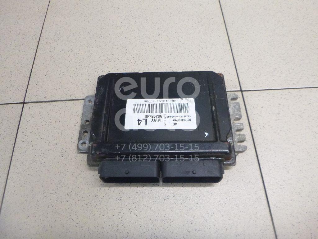 Купить Блок управления двигателем Chevrolet Lacetti 2003-2013; (96395445)