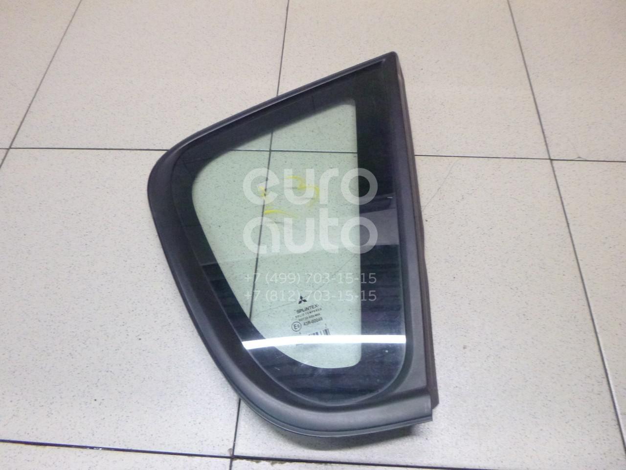 Купить Стекло кузовное глухое правое Mitsubishi Colt (Z3) 2003-2012; (MR957060)