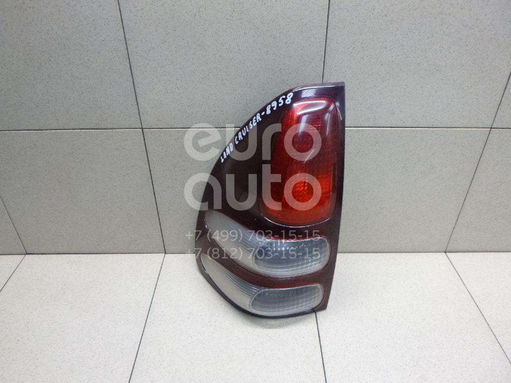 Купить Фонарь задний левый Toyota Land Cruiser (120)-Prado 2002-2009; (8156160630)