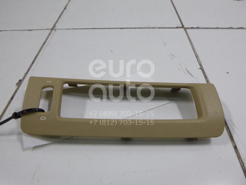 Накладка дефлектора BMW X5 E70 2007-2013; (51436972384)
