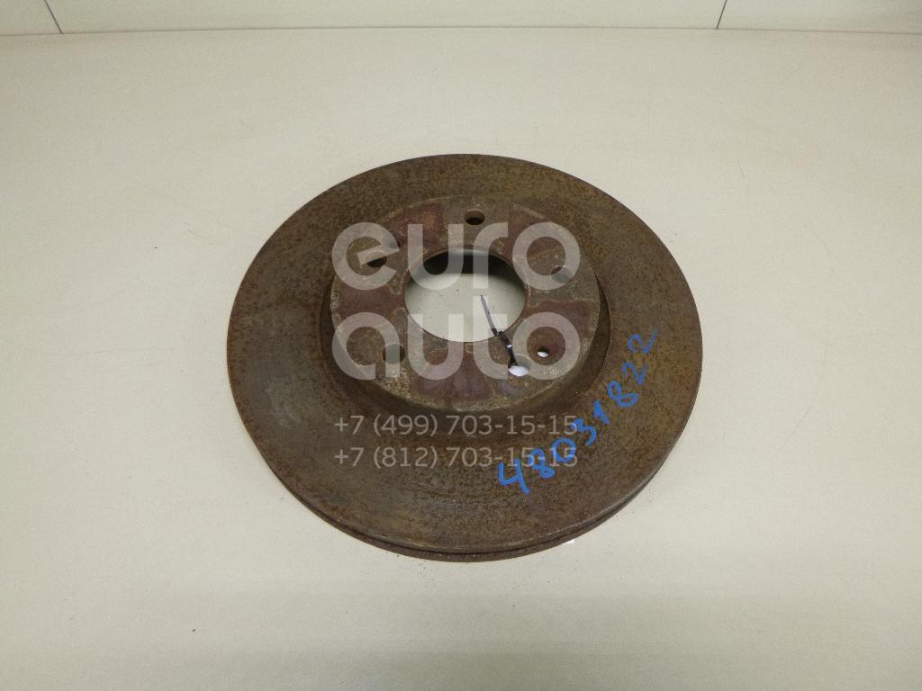 Диск тормозной передний вентилируемый Kia Soul 2009-2014; (517123K010)
