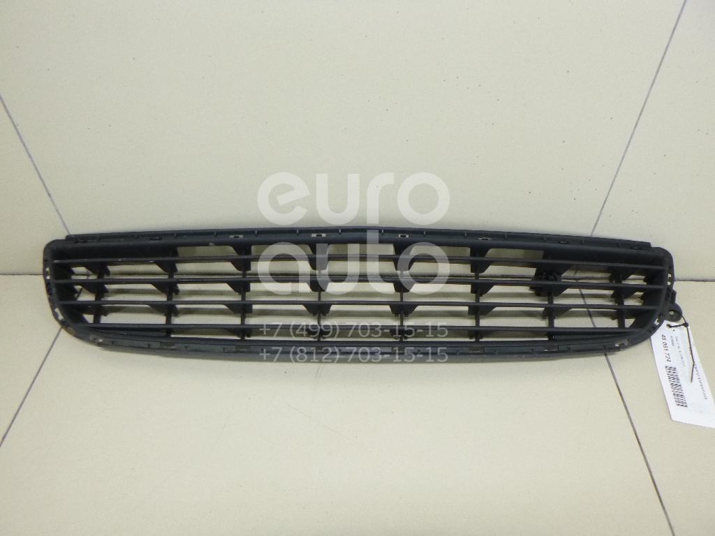 Решетка в бампер центральная Opel Zafira B 2005-2012; (1400458)