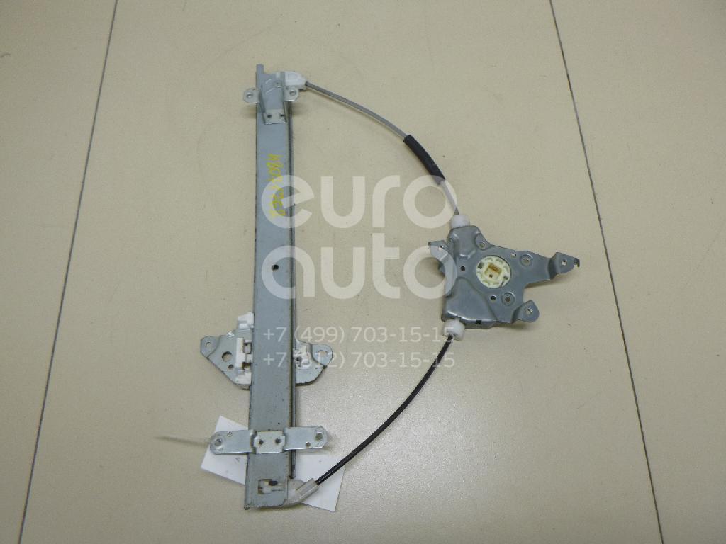 Стеклоподъемник электр. передний левый Nissan Almera (G15) 2013-; (80721EW000)
