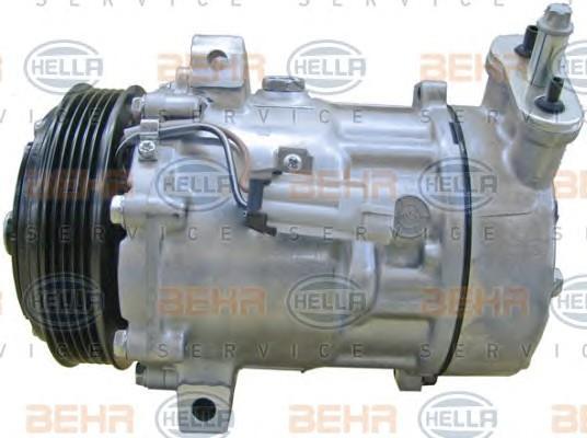 Компрессор системы кондиционирования для Opel Vectra C 2002-2008 - Фото №1