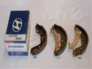 Колодки барабанные к-кт для Hyundai Accent I 1994-2000 - Фото №1