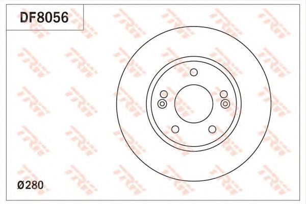 Диск тормозной передний вентилируемый для Kia Soul 2014> - Фото №1