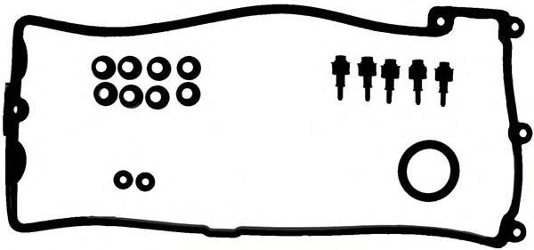 Набор прокладок клапанной крышки для BMW X5 E70 2007-2013 - Фото №1