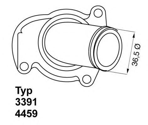 Термостат для Opel Corsa D 2006-2015 - Фото №1