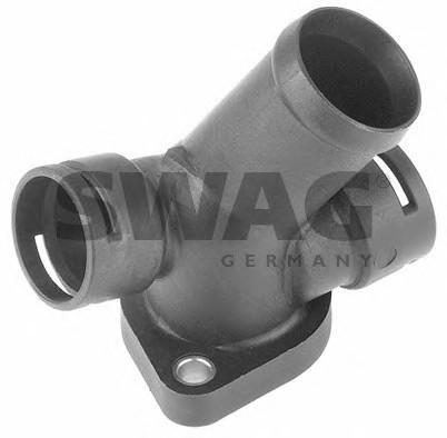 Фланец двигателя системы охлаждения для VW Transporter T4 1996-2003 - Фото №1