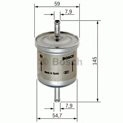 Фильтр топливный для Daewoo Gentra II 2013-2015 - Фото №1