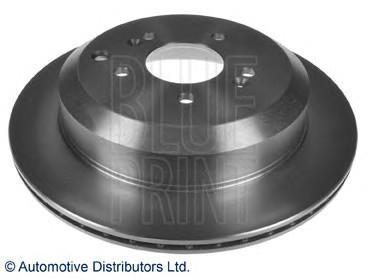 Диск тормозной задний для Hyundai ix55 2007-2013 - Фото №1
