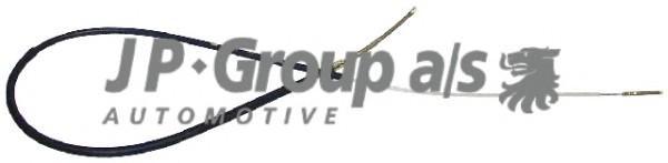 Трос стояночного тормоза для VW Passat [B3] 1988-1993 - Фото №1