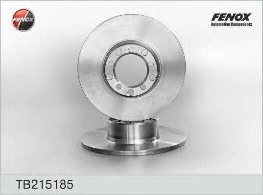 Диск тормозной передний не вентилируемый для Mercedes Benz W123 1976-1985 - Фото №1