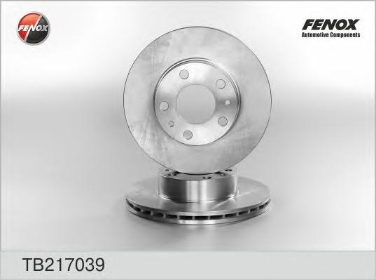 Диск тормозной передний вентилируемый для Citroen Jumper 2002-2006 - Фото №1