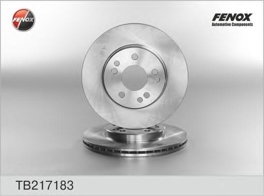 Диск тормозной передний вентилируемый для Mercedes Benz W201 1982-1993 - Фото №1