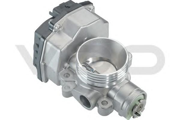 Заслонка дроссельная электрическая для Peugeot Partner (M59) 2002-2010 - Фото №1