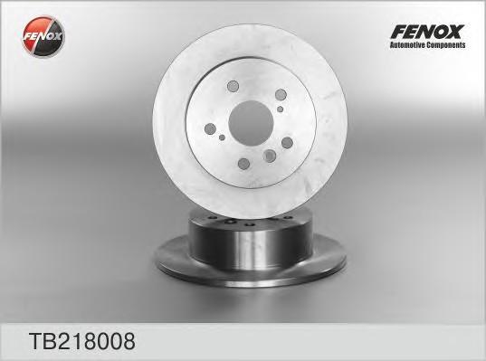 Диск тормозной задний для Lexus ES (SV40) 2006-2012 - Фото №1