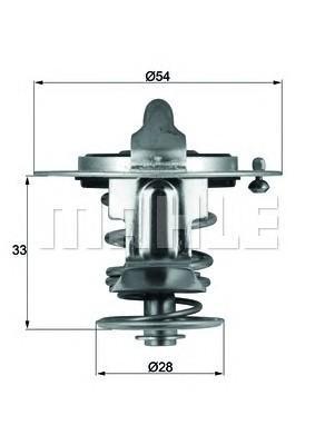Термостат для Hyundai Santa Fe (DM) 2012> - Фото №1