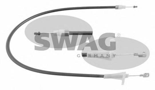 Трос стояночного тормоза левый для Mercedes Benz W203 2000-2006 - Фото №1