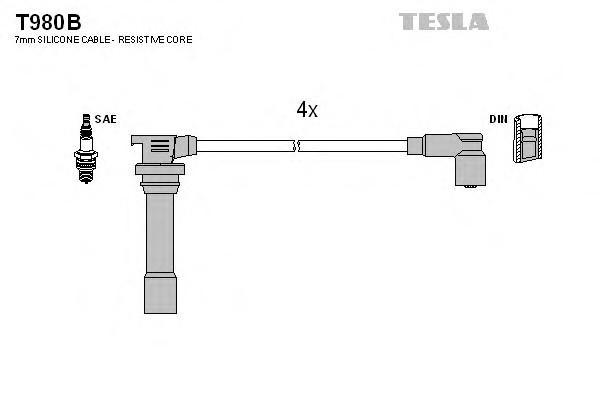 Провода высокого напряж. к-кт для Mazda 323 (BA) 1994-1998 - Фото №1