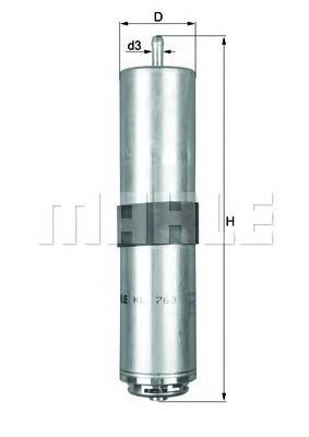 Фильтр топливный для BMW X3 F25 2010> - Фото №1