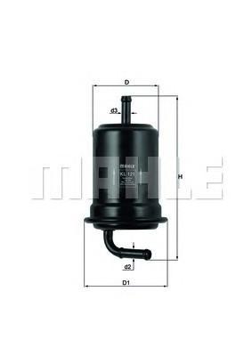 Фильтр топливный для Mazda Xedos-6 1992-1999 - Фото №1