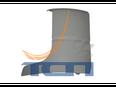 Внешняя часть дефлектора левая TRUCK ACTROS2 (2002>)
