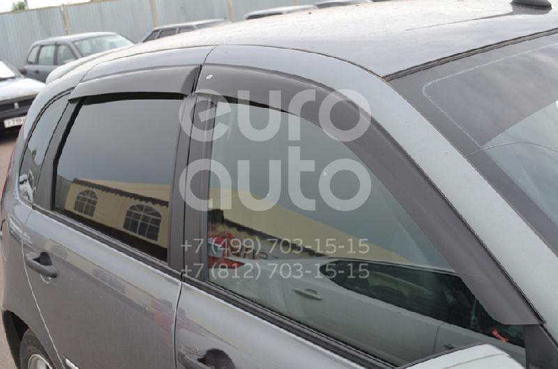 К-кт ветровиков (дефлекторы) бокового стекла для VAZ Lada Kalina 2004-2013 - Фото №1