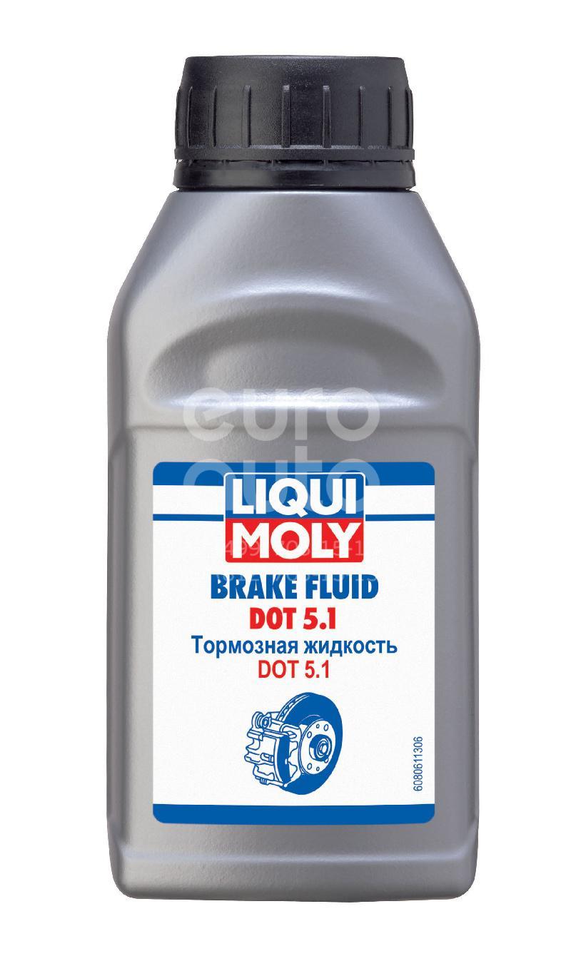 Жидкость тормозная BRAKE FLUID DOT5.1 250МЛ - Фото №1