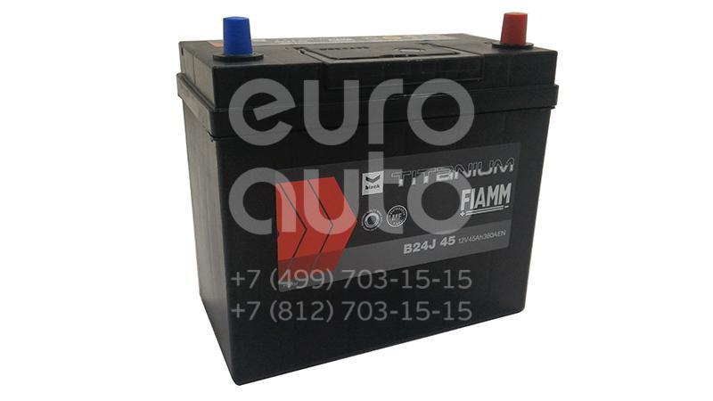 Аккумулятор 237x128x225 Asia 360A (-+) ЕВРО МАЛ. КЛЕМ. АКБ FIAMM BLACK TITANIUM 45 AH (B24J45) - Фото №1