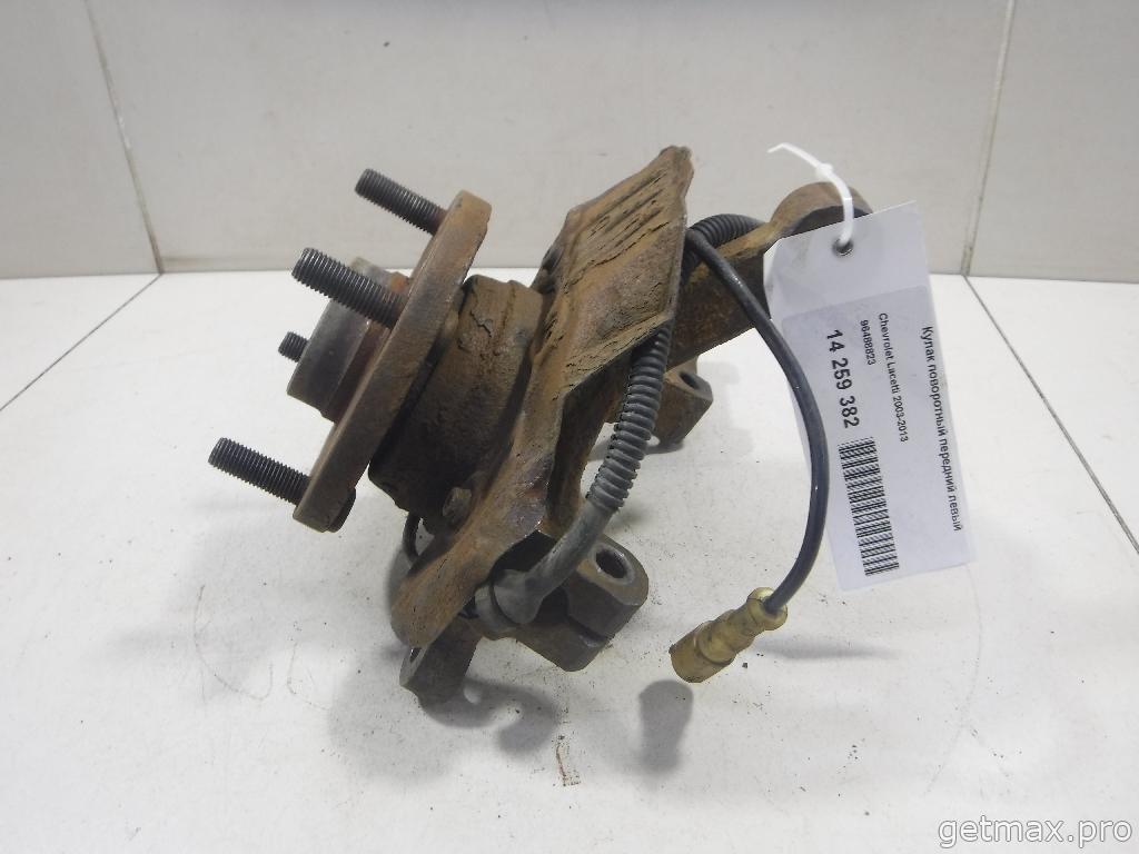 Кулак поворотный передний левый (бу) Chevrolet Lacetti 2003-2013 купить
