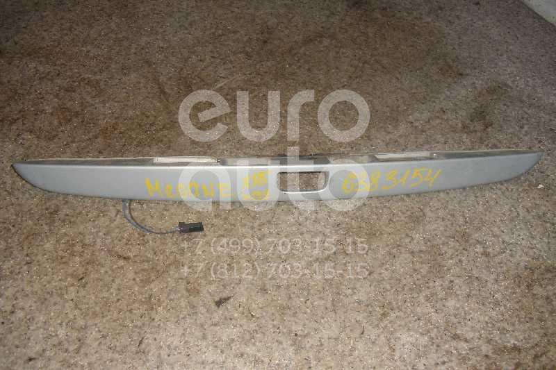Накладка двери багажника для Renault Megane I 1999-2004 - Фото №1