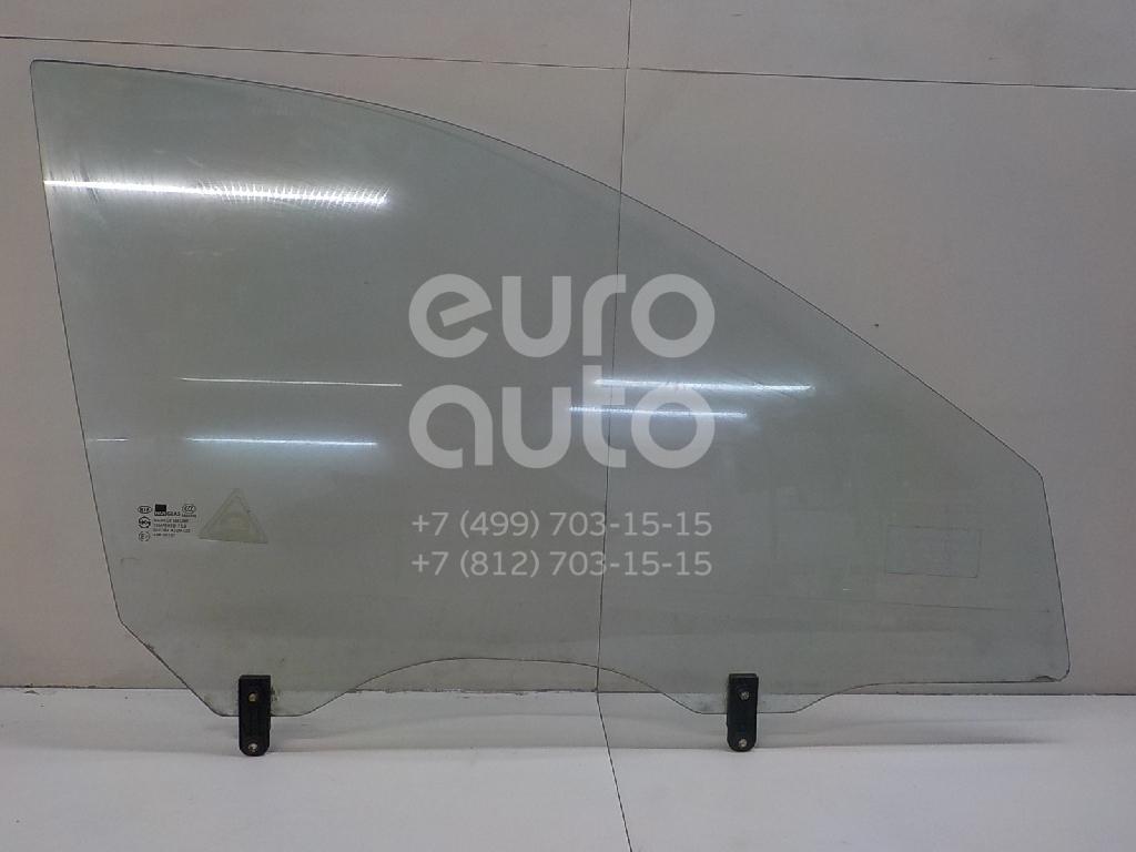Стекло двери передней правой для Kia Cerato 2004-2008 - Фото №1