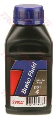 Жидкость тормозная DOT-4 0.25L - Фото №1