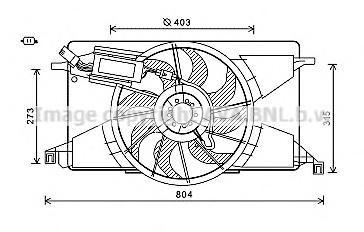 Вентилятор радиатора для Ford C-MAX 2010> - Фото №1