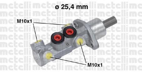 Цилиндр тормозной главный для VW Transporter T4 1996-2003 - Фото №1