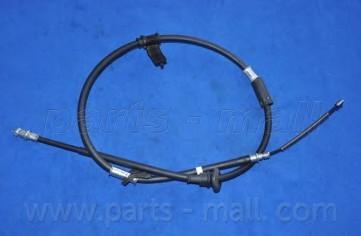 Трос стояночного тормоза левый для Hyundai Accent II (+ТАГАЗ) 2000-2012 - Фото №1
