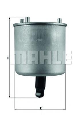 Фильтр топливный для Citroen C4 Picasso 2014> - Фото №1