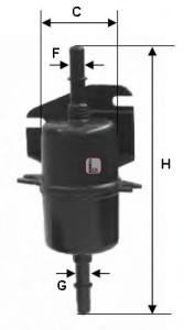 Фильтр топливный для Fiat Palio 1996-2009 - Фото №1
